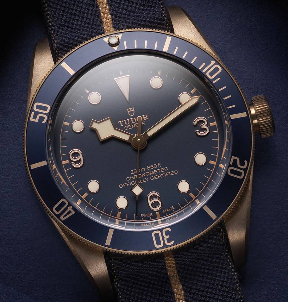 Tudor Heritage Black Bay Bronze Blue Edition for Bucherer
