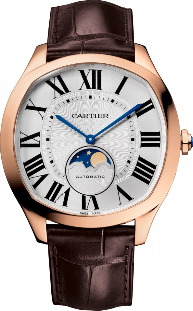 Dive De Cartier Moon Phases pink gold