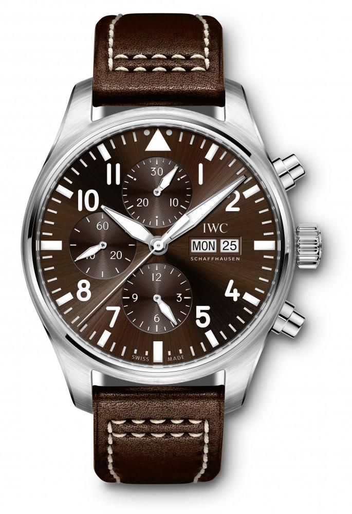 "IWC Pilot's Watch Chronograph Edition ""Antoine de Saint Exupéry,"" reference IW377713"