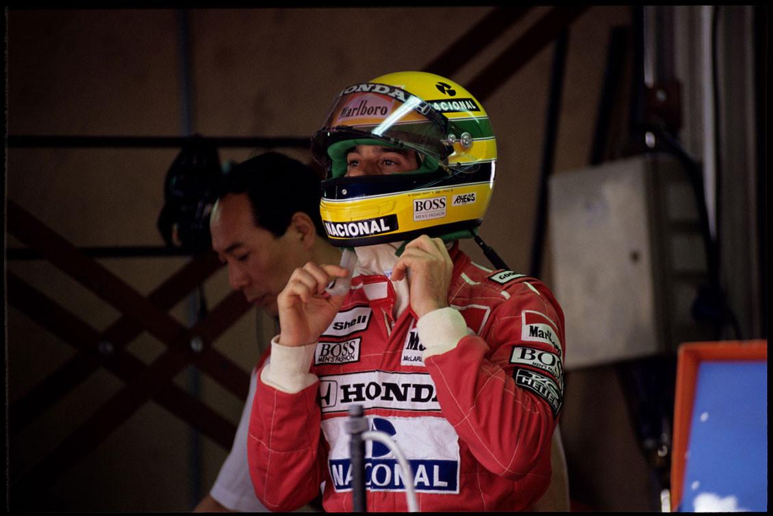 Ayrton Senna Monaco Grand Prix