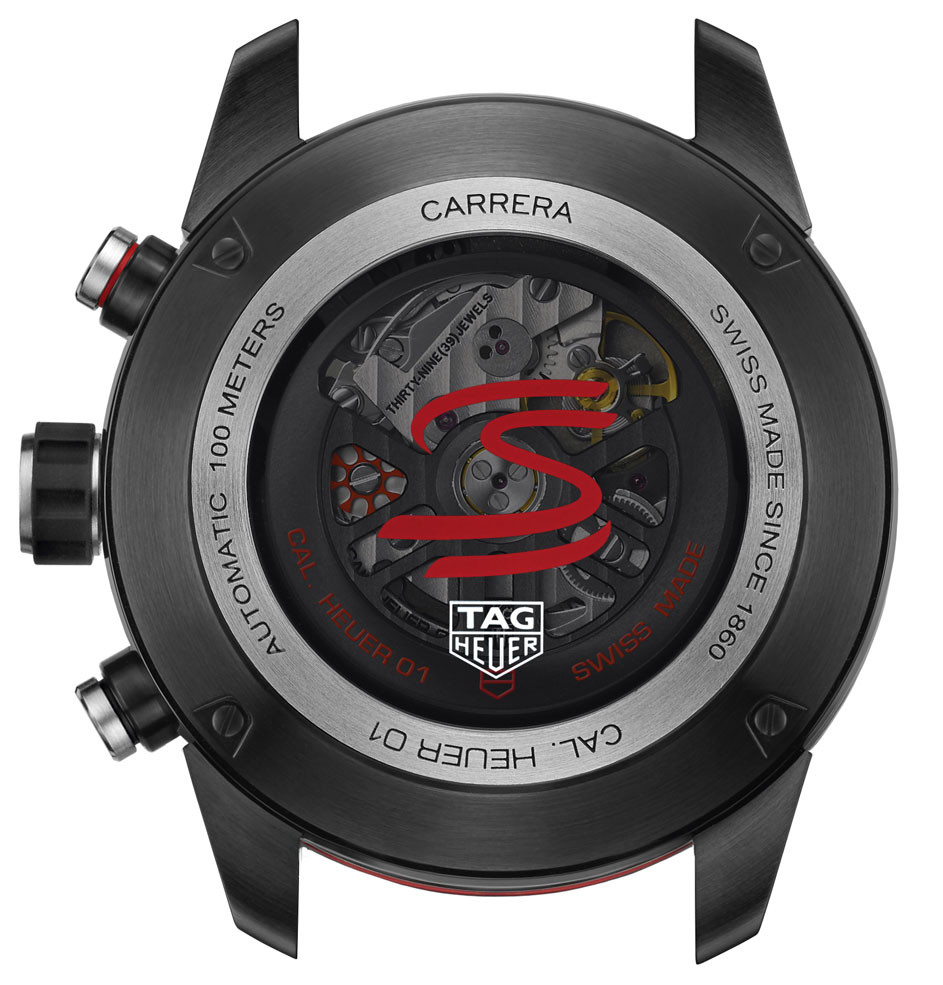 TAG HEUER Carrera Heuer-01 Ayrton Senna Chronograph CAR2A1L.BA0688
