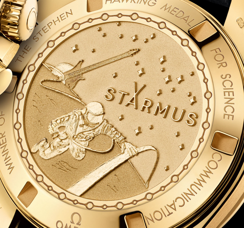 OMEGA Speedmaster Moonwatch Professional Chronograph Starmus