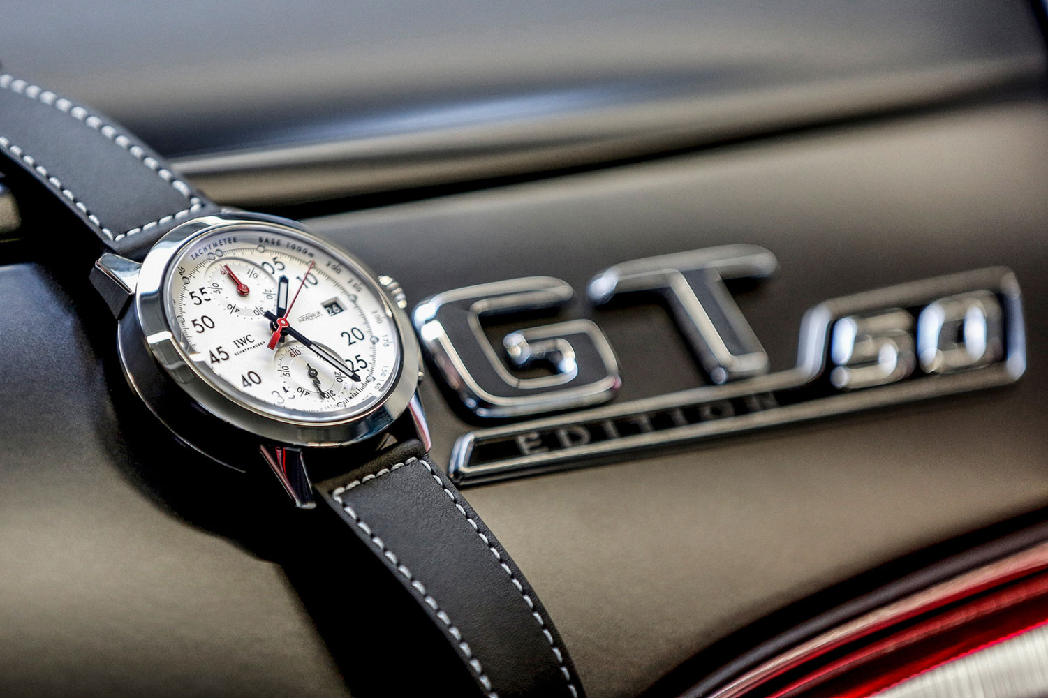 """Ingenieur Chronograph Sport Edition """"50th Anniversary of Mercedes-AMG"""""""