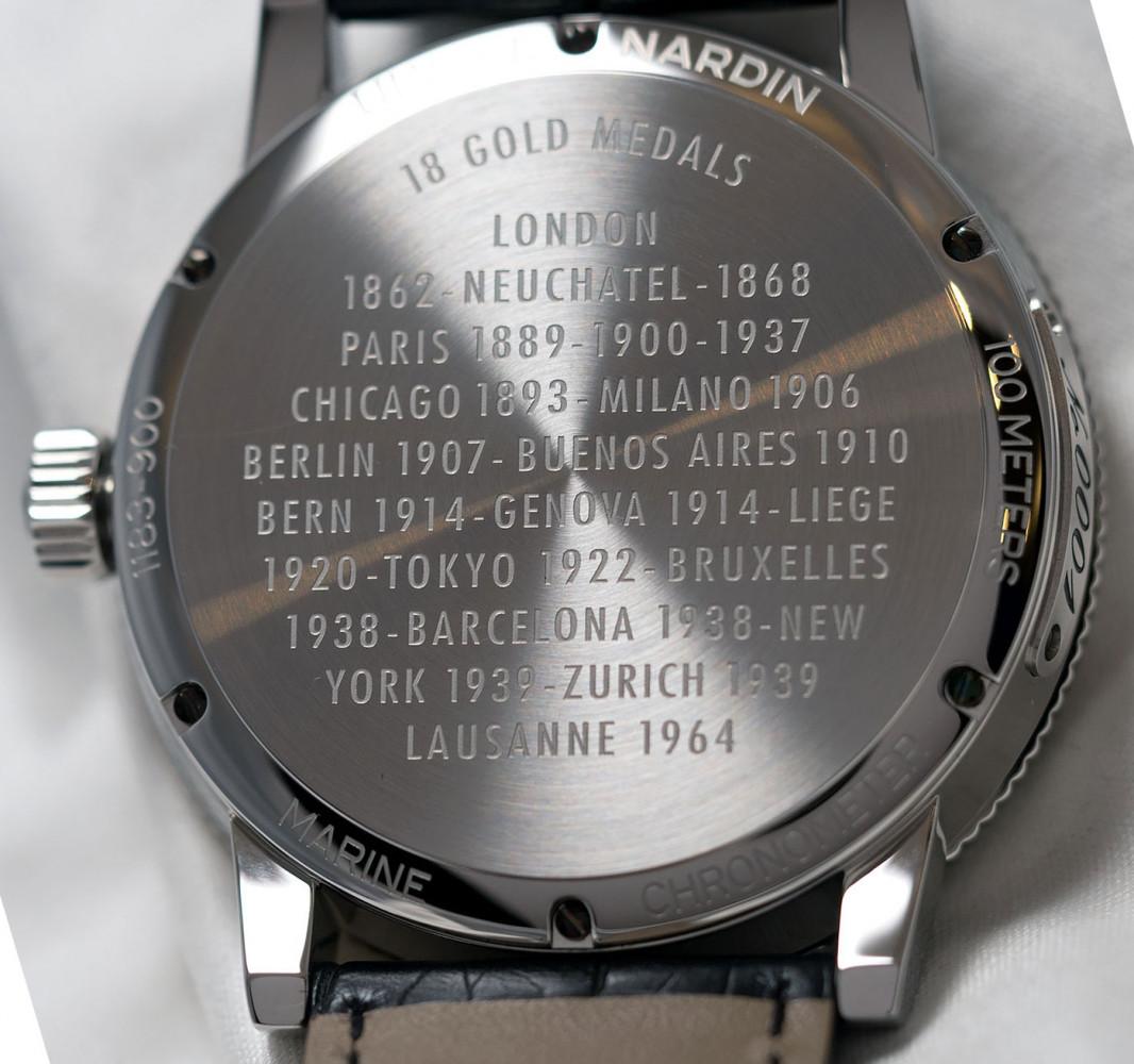 Ulysse Nardin Marine 1846, reference number 1183-900/EO