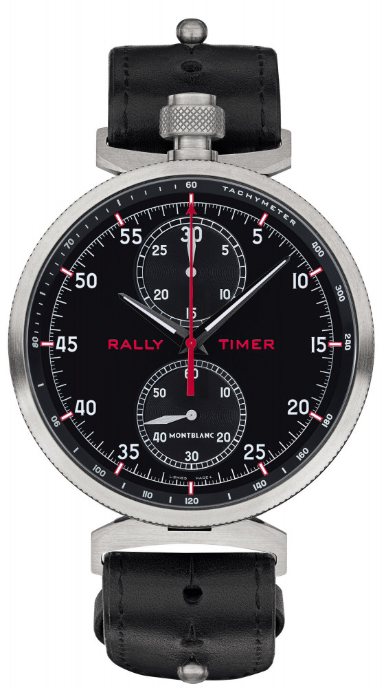 40851616d2d40 Montblanc TimeWalker Chronograph Rally Timer Counter Limited Edition ...