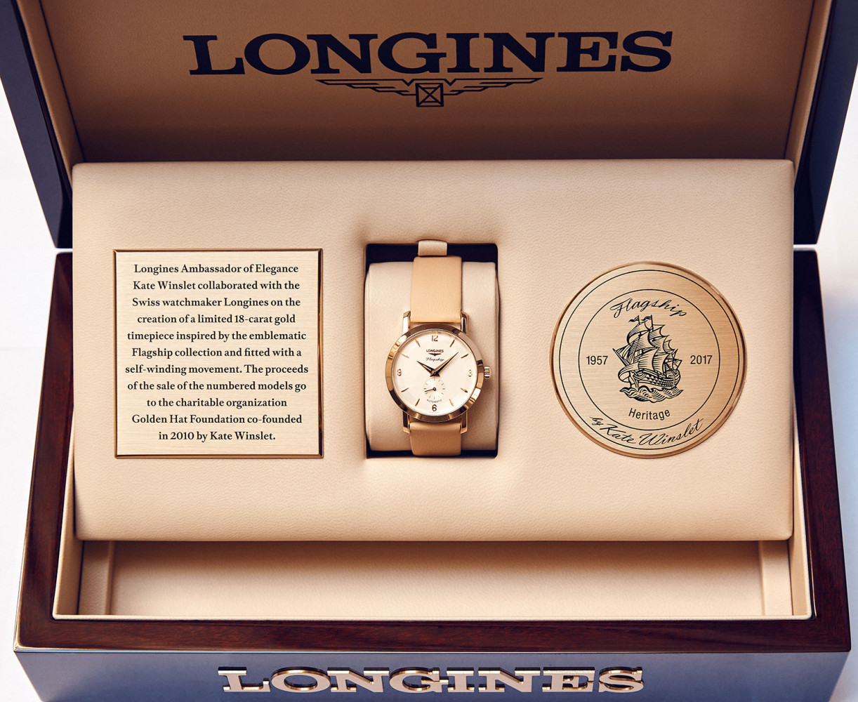Longines introduces Flagship Heritage by Kate Winslet watches