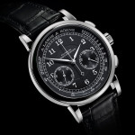 A. Lange & Söhne 1815 Chronograph with a stopwatch and black dial