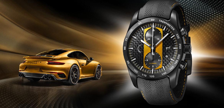 Porsche Design Chronograph 911 Turbo S Exclusive Series Luxois