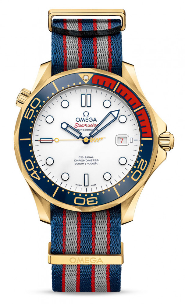 "Omega Seamaster Diver 300M ""Commander's Watch"" Limited Edition in Gold"