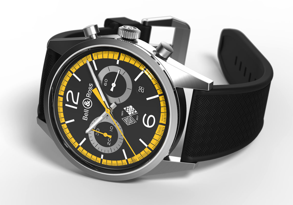 Bell & Ross 126 Renault Sport 40th Anniversary Edition