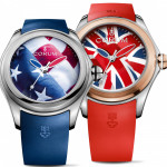 Corum Bubble American Flag and the Union Jack