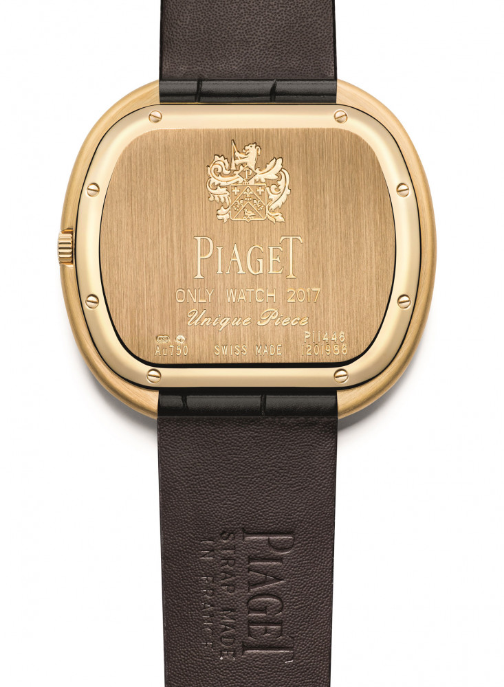 b373d847002d Piaget Black Tie vintage inspiration watch for Only Watch 2017 - Luxois