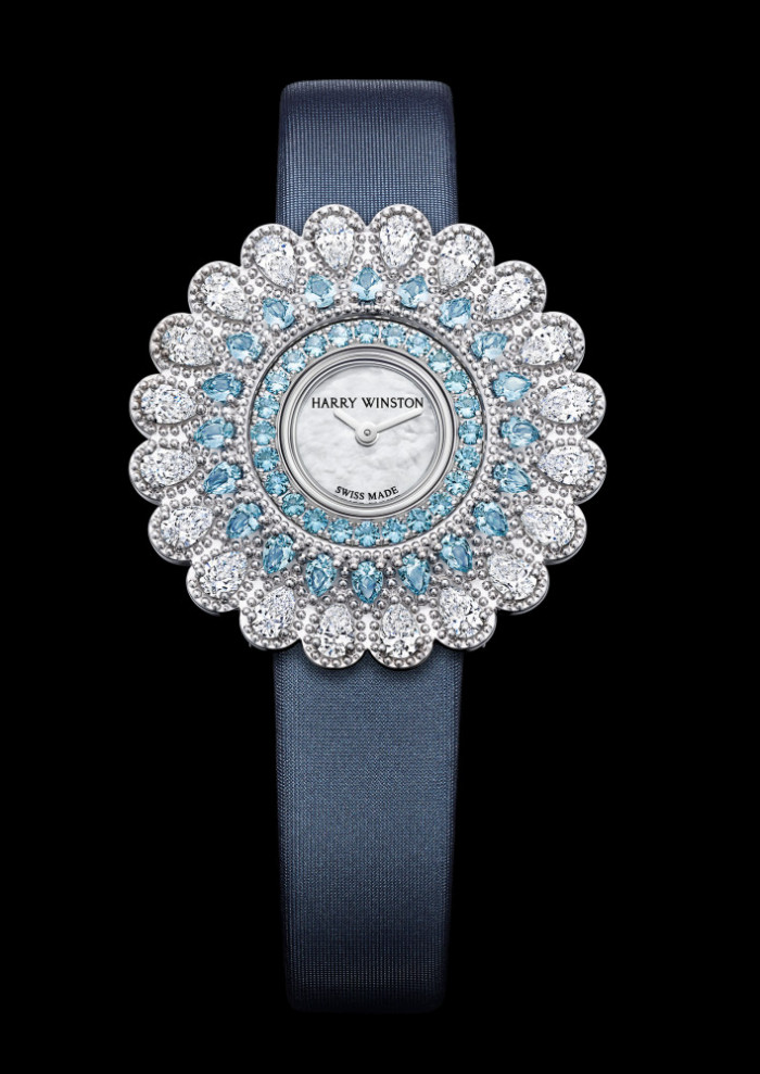 The House Of Harry Winston Introduces Marquise Time An Imaginative New High Jewelry Timepiece That Can Be Worn Either As A Pendant Or Traditional