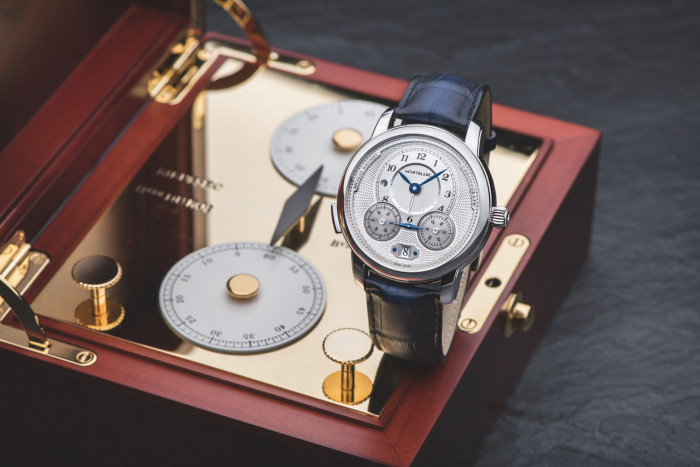de993d6eb3f ... is reviving the spirit of classical watchmaking with two new chronograph  models in the newly reworked Star Legacy Collection. The Montblanc Star  Legacy ...