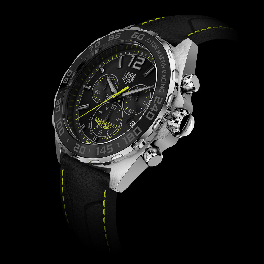 f5ca5758af5ca TAG Heuer unveils first Aston Martin timepieces - Luxois