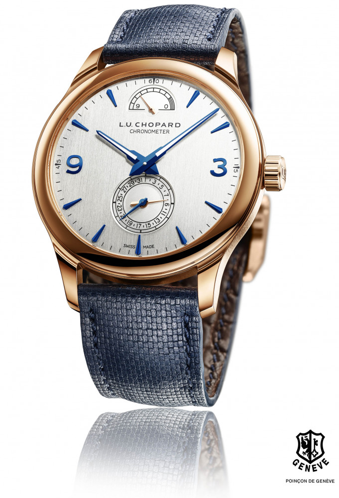 b991c724342b86 The new Chopard L.U.C Quattro in rose gold measures 43mm in diameter, has a  polished round bezel and hand-engraved case-back. The watch is mounted on a  ...