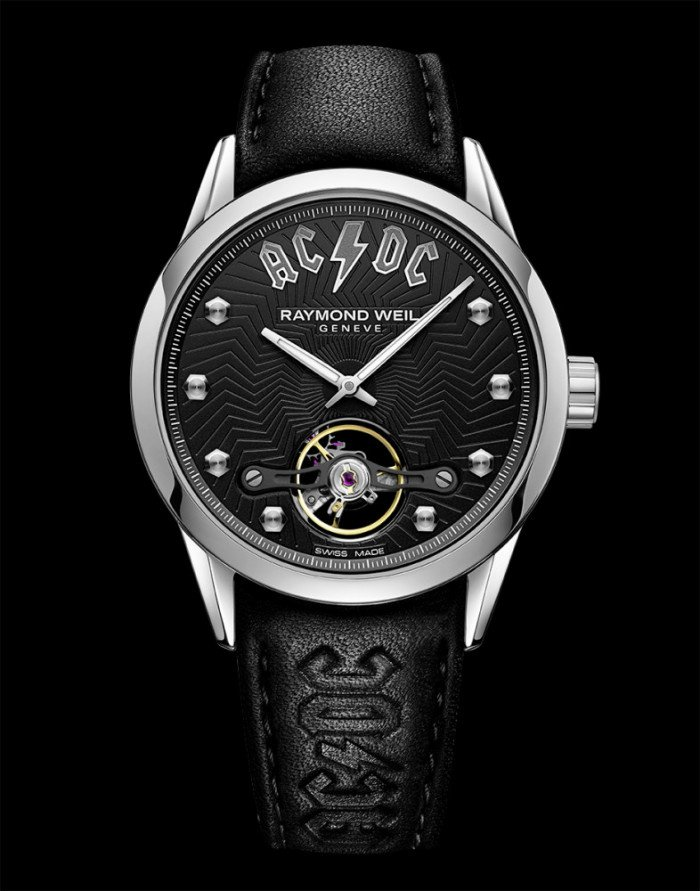 127a175b8a2 Raymond Weil introduces a new member to its Music Icons series – the  Freelancer AC DC Limited Edition. As its name suggests