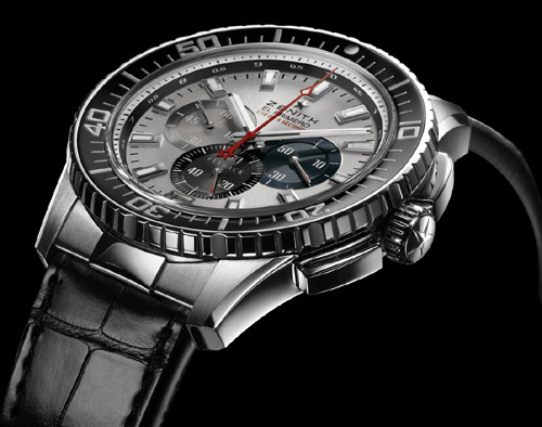 59d116806d1 Zenith El Primero Stratos Flyback Striking 10th Watch is inspired by the  obsession with accuracy and precision