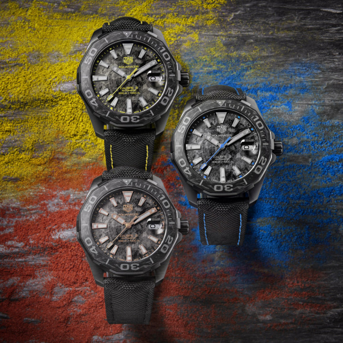 9dc5f75acd0 Swiss watchmaker TAG Heuer introduces a special new series of its most  modern line of watches yet. The exclusive new range of carbon-clad  timepieces ...