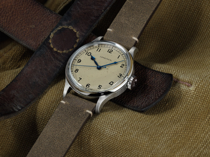 83331f70e Swiss watchmaker Longines pays tribute to its historical roots with a new  member of the Heritage watch family. The Longines Heritage Military, ...