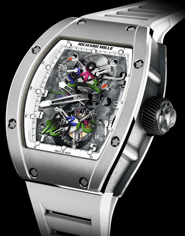 Richard Mille Rm 055 Jackie Chan For Dragons Heart Foundation Luxois
