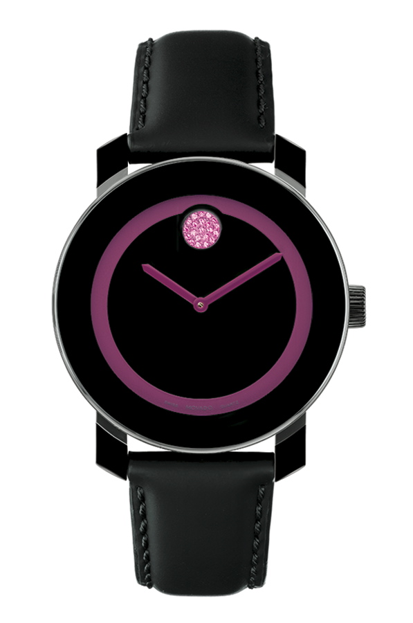 417487aad5d The Movado BOLD for Breast Cancer Research Foundation is designed to  promote awareness and help support the fight against breast cancer.