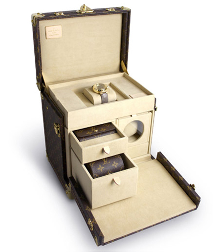 Louis Vuitton Tambour Mysterieuse Watch Trunk