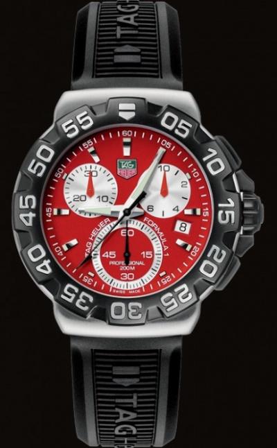 Tag Heuer 2000 Chronograph Watch - CK1111-0 - Ref: arc-8882 - Tag