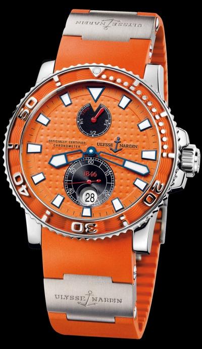часы ulysse nardin maxi marine diver простой