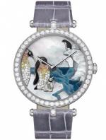 Van Cleef & Arpels Extraordinary dials Lady Arples Polar Landscape Penguin Portrait